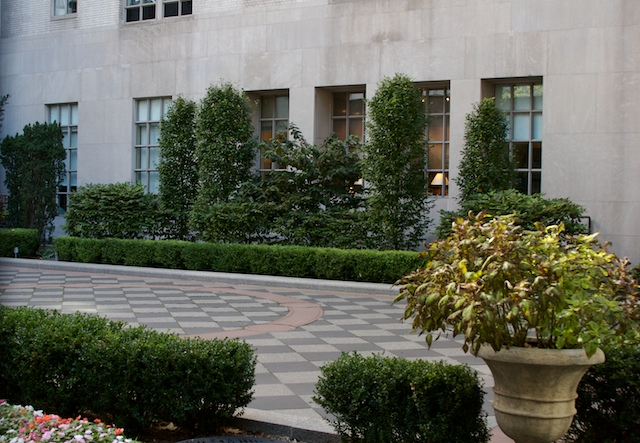 Harkness Courtyard
